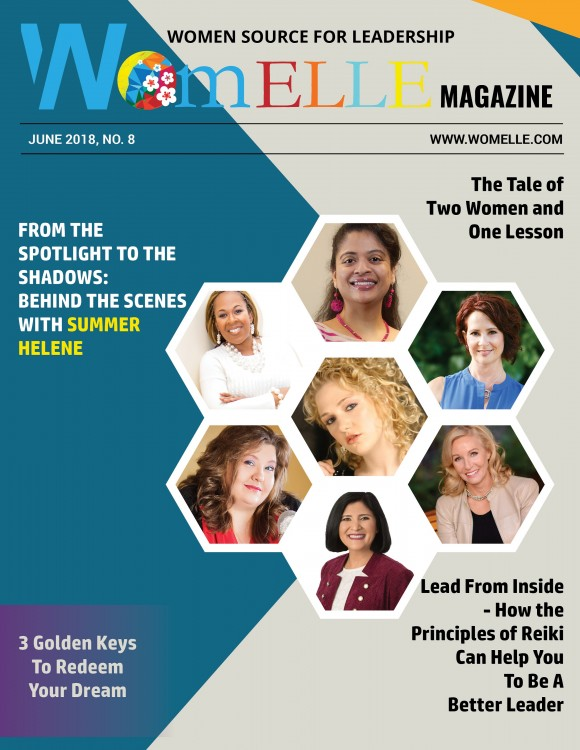WomELLE Magazine, June 2018