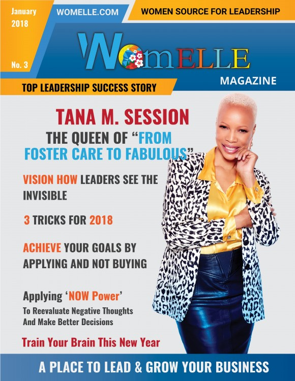 WomELLE Magazine, January 2018