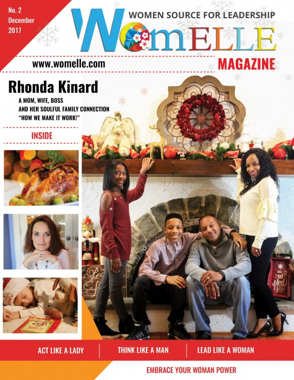 WomELLE Magazine, December 2017