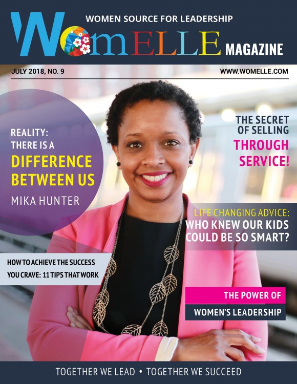 WomELLE Magazine, July 2018