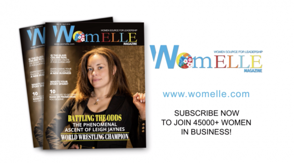 COMING SOON: The April issue of WomELLE Magazine.