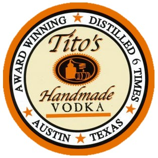 Tito's Handmade VODKA - logo