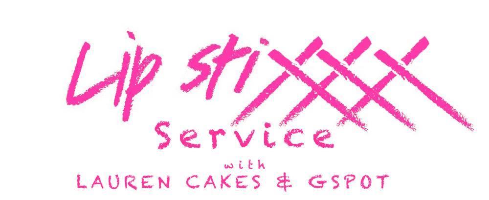 Lip stixxx service with LAUREN CAKES & GSPOT - logo