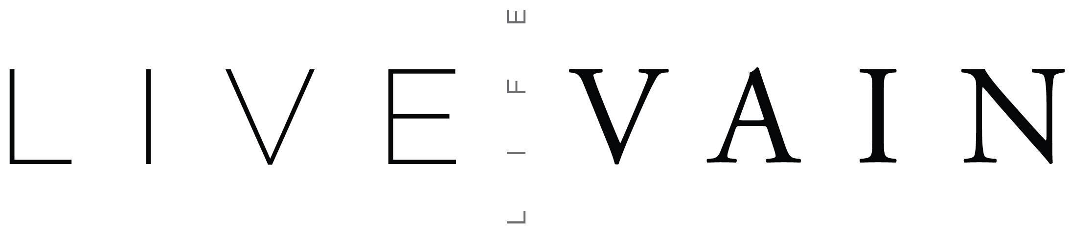 Live Life Vain - logo