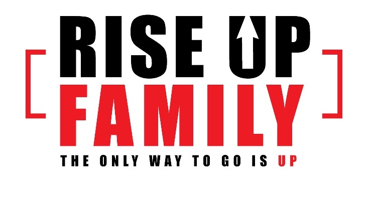 Rise up family - logo